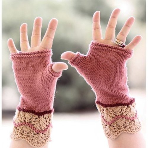 Designs by Romi Gingerbread Mitts PDF -  ()