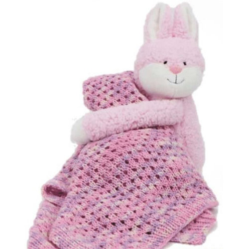 DMC Hug This! Baby Blanket Kit - Bunny (BUNNY)