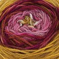 Done Roving Yarns Frolicking Feet Transitions - Downtown Masterpiece (026)