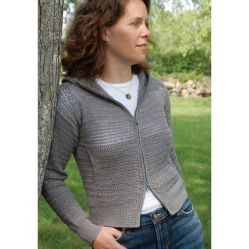 Dovetail Designs C2.3 Lightweight Hoodie to Crochet PDF -  ()