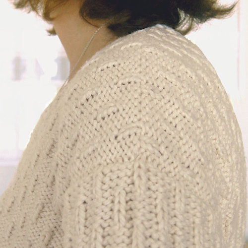 "Dovetail Designs ""Boxy"" Sweater To Knit PDF -  ()"