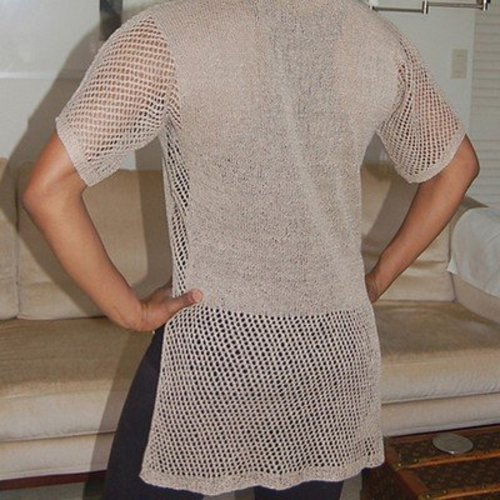 Dovetail Designs K2.54 Lace-Trimmed Tunic PDF -  ()