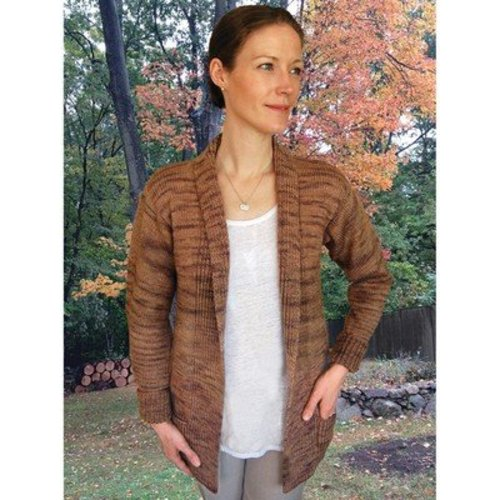 Dovetail Designs K2.58 Long Cardigan to Knit PDF -  ()