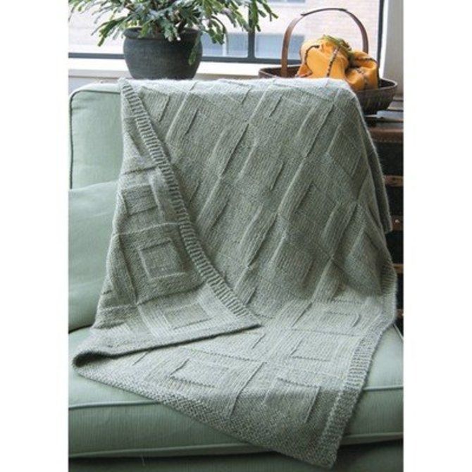 Dovetail Designs K33 Reversible Afghan Pdf At Webs Yarn