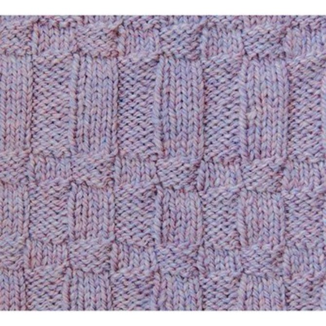 Dovetail Designs K3.3 Reversible Afghan PDF at WEBS | Yarn.com