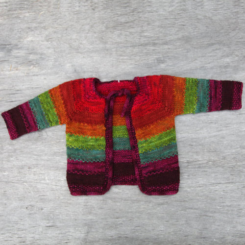Dream in Color 604 Tulip Baby Cardigan Kit - Boy-unisex (assorted Colors) (BOYUNISEX)