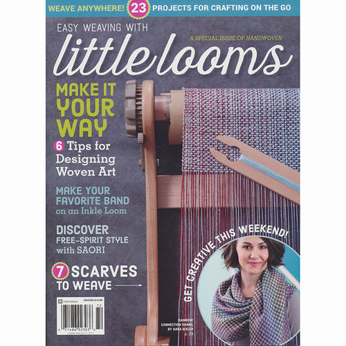 Easy Weaving with Little Looms: Handwoven Magazine Special Issue 2017 -  ()