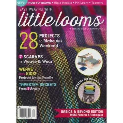 Easy Weaving with Little Looms: Handwoven Magazine Special Issue -  ()