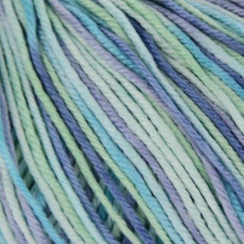 Ella Rae Cozy Soft Prints - Aquas, Lavender (05)