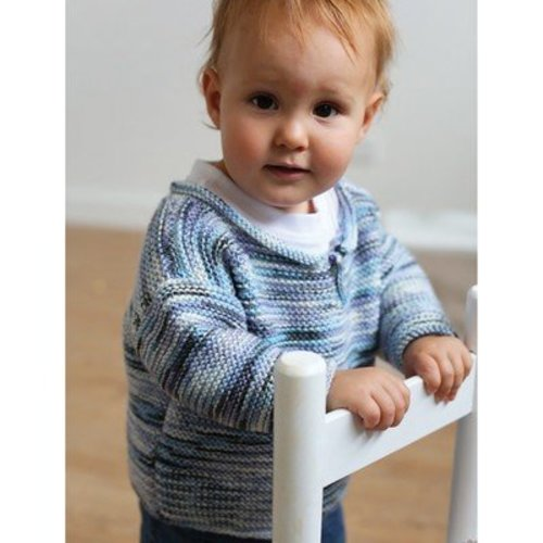 Ella Rae Garter Stitch Sweater PDF -  ()