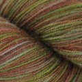 Ella Rae Lace Merino - Silver, Rust, Yellow Green (155)