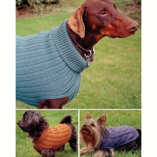 Fiber Trends 211X Dandy Dog Sweaters -  ()
