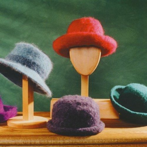 Fiber Trends AC1 Felt Hat with brim variations -  ()