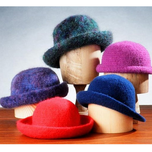 Fiber Trends AC11 Crocheted Felt Hats -  ()