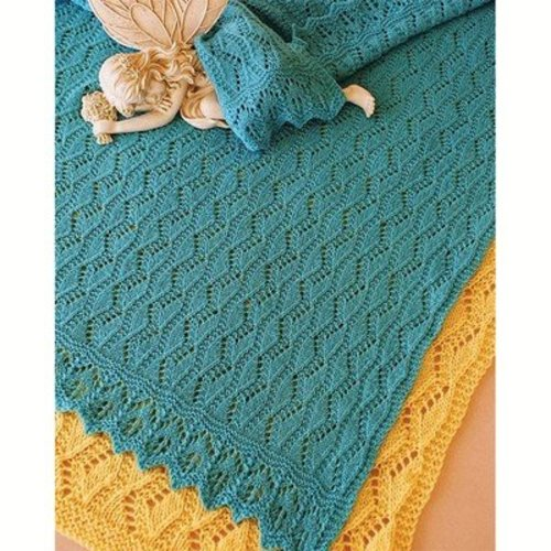 Fiber Trends CH-41 Estonian Lullaby Baby Blanket -  ()