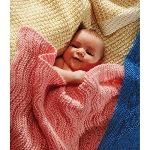 Fiber Trends CH23 Easy Knit Baby Blankets -  ()
