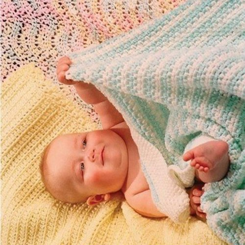 Fiber Trends CH31 Easy Crocheted Baby Blankets, Collection 1 -  ()