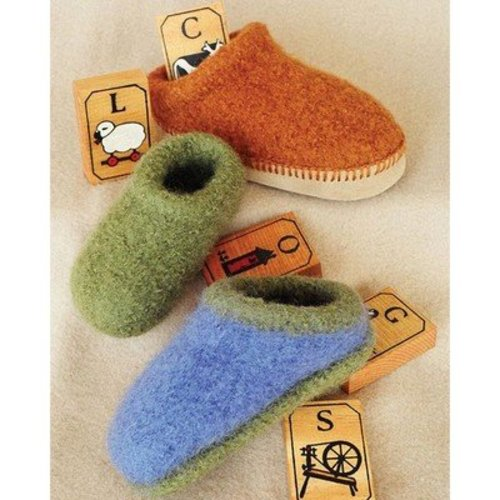 Fiber Trends CH38X Children's Felt Clogs -  ()