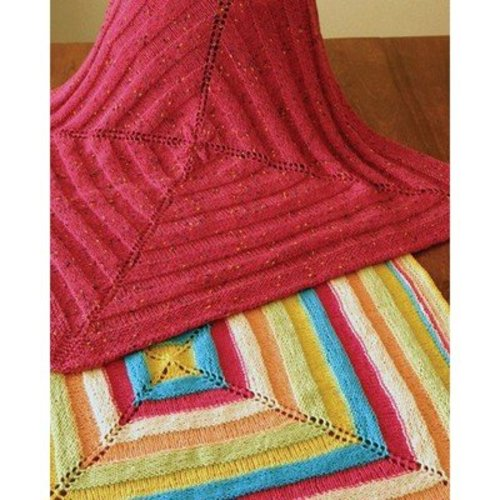 Fiber Trends CH44X Ribbons Baby Blanket -  ()