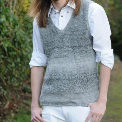 Figheadh Yarnworks Fundamental Men's Vest PDF -  ()
