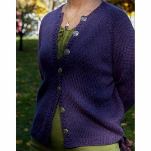 Figheadh Yarnworks Fundamental Top Down Women's Cardigan PDF -  ()