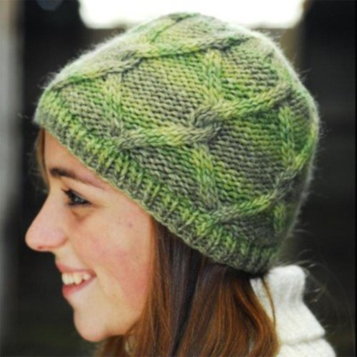 Figheadh Yarnworks Lattice Cable Cap PDF -  ()