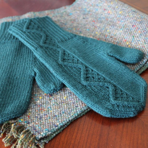 Figheadh Yarnworks Pathmingle Mittens PDF -  ()