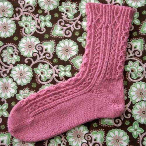 Jen Hagan Design Snow Lake Socks PDF -  ()