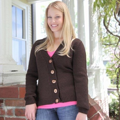 First Cardigan With Set-In Sleeves* -  ()