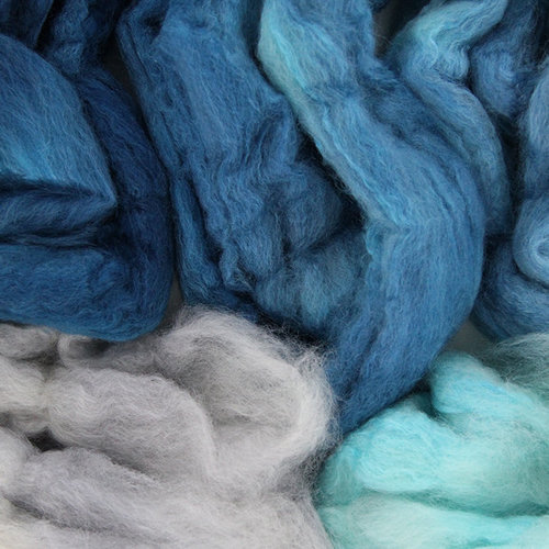 Frabjous Fibers BFL Silk Lamb's Tail - WEBS Exclusive Colorway -  ()