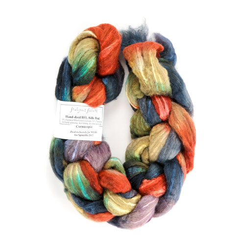Frabjous Fibers Hand-Dyed BFL-Silk Blend - WEBS Exclusive Colorway -  ()