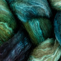 Frabjous Fibers Hand Dyed BFL-Silk Blend - #234 Green With Envy (GREEN)