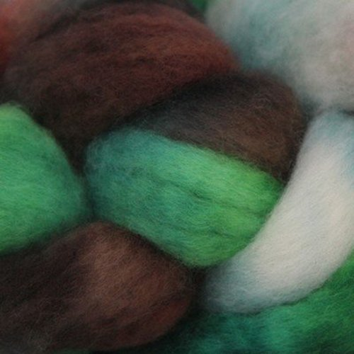 Frabjous Fibers Hand Dyed BFL, Take Me Out to the Ballpark - Take Me Out to the Ballpark (TAKEM)
