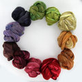 Frabjous Fibers Three Feet of Sheep - BFL-Silk Autumn Leaves - Limited Edition (BFLSAU)