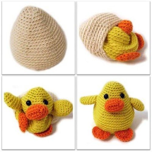 FreshStitches Russ the Chick in an Egg PDF -  ()