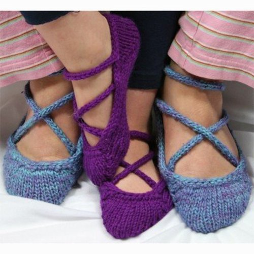 Gardiner Yarn Works Ballerina Slippers PDF -  ()