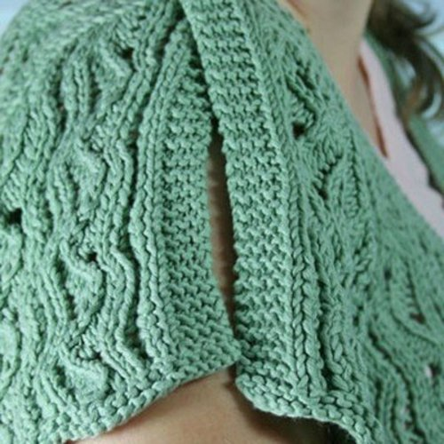 Gardiner Yarn Works Cannon Beach V-Neck PDF -  ()