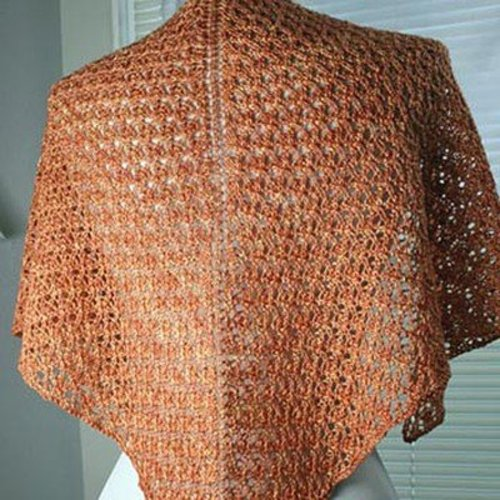 Gardiner Yarn Works Feather Lace Shawl PDF -  ()