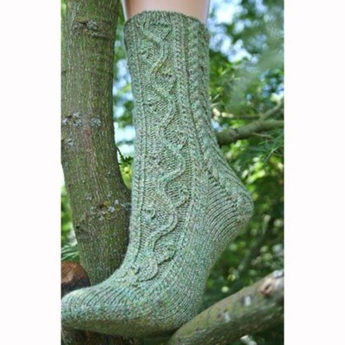 Gardiner Yarn Works Forest Park Socks PDF -  ()