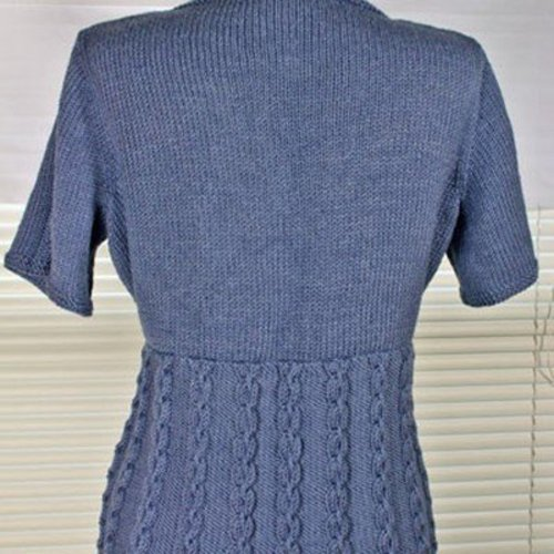 Gardiner Yarn Works Knotty Wrap Top PDF -  ()