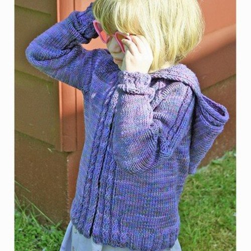 Gardiner Yarn Works Little Cable Hoodie PDF -  ()