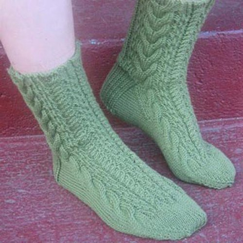Gardiner Yarn Works Lobster Pot Socks PDF -  ()