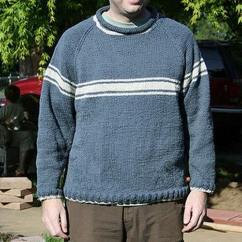 Gardiner Yarn Works Mens Stripey Raglan PDF -  ()
