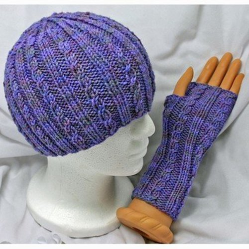 Gardiner Yarn Works Snow Day Hat & Mitts PDF -  ()