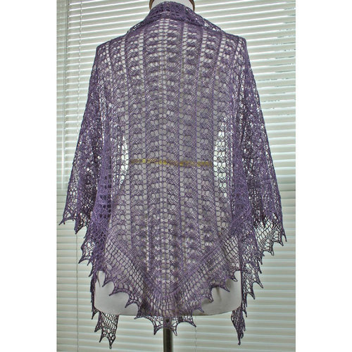 Gardiner Yarn Works Toe the Line Shawl PDF -  ()