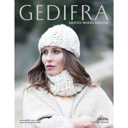 Gedifra G0296 Hat and Snood PDF -  ()