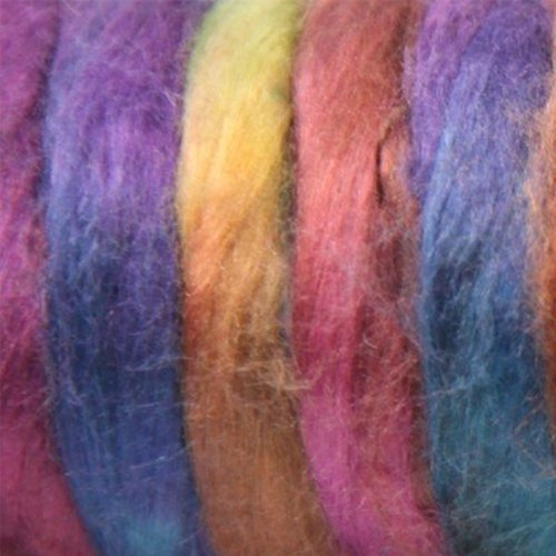Great Adirondack Mulberry Silk Roving -  ()