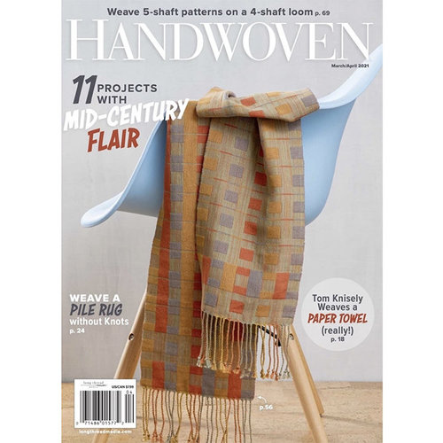 Handwoven Magazine - March/April 2021 (MAAP21)