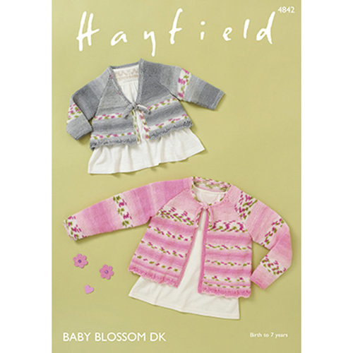 Hayfield 4842 Baby Girl's & Girl's Tops -  ()