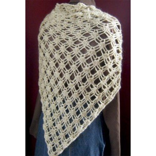 Hooked for Life Beaded Thistle Shawl PDF -  ()